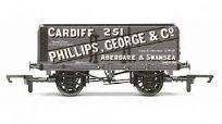 Hornby R6813 7 Plank Wagon Phillips, George & Co Cardiff No.251